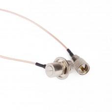 Кабельная сборка PL259-SO239 длина 5 метров кабель RG316