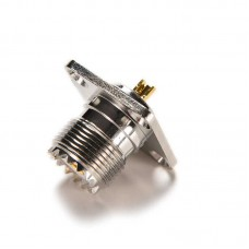 разъем so239 UHF с фланцевым креплением