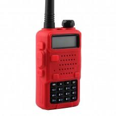 красный чехол для радиостанций семейства Baofeng uv5r