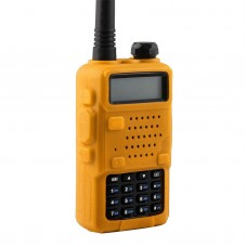 желтый чехол для радиостанций семейства Baofeng uv5r
