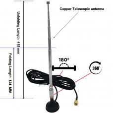 Антенна телескопическая на магните  для sdr приемника