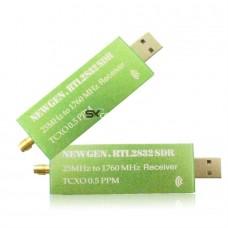 RTL SDR приёмник NewGen 0,5 PPM TCXO RTL2832U R820T2 25 МГц до 1760 МГц